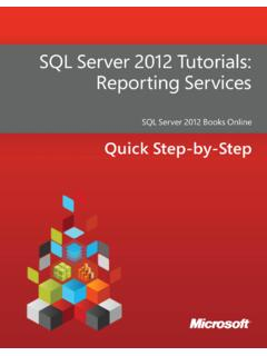 SQL Server 2012 Tutorials - download.microsoft.com