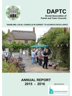 ENABLING LOCAL COUNCILS IN DORSET TO ACHIEVE …