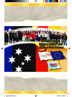 Introduction to Human Rights Law - PNG