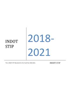 INDOT 2021 - IN.gov