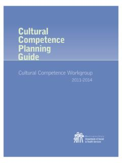 Cultural Competence Planning Guide - Transforming Lives
