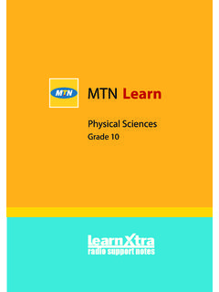 Physical Sciences - Maths Excellence