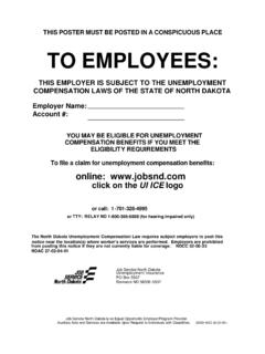 THIS EMPLOYER IS SUBJECT TO THE …