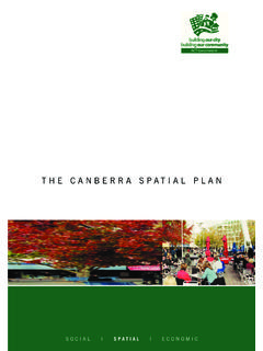 The Canberra Spatial Plan - apps.actpla.act.gov.au