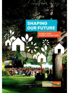 SHAPING OUR FUTURE - Glenelg Shire Council