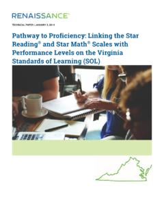 Pathway to Proficiency: Linking the Star Reading and Star ...