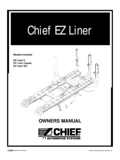 Chief EZ Liner - Chief Automotive Technologies