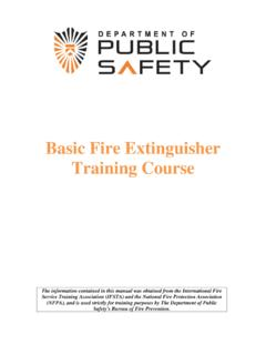 Basic Fire Extinguisher Training Course - Princeton University