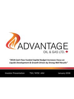 2018 Cash Flow Funded Capital Budget Increases …