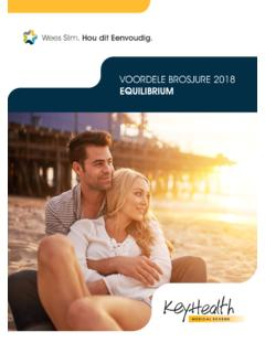 VOORDELE BROSJURE 2018 EQUILIBRIUM - Medical Aid