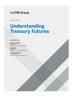 Understanding Treasury Futures - CME Group