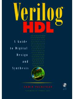Verilog HDL: A Guide to Digital Design and Synthesis