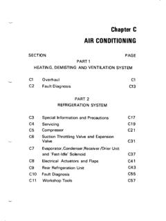 Chapter C AIR CONDITIONING - rrtechnical.info