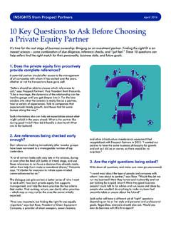 10 Key Questions to Ask Before Choosing a Private Equity ...