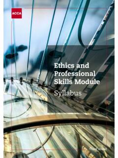 Ethics and Professional Skills Module