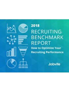2018 RECRUITING BENCHMARK REPORT - web.jobvite.com