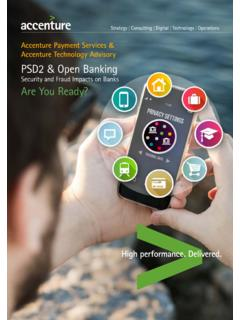 PSD2 & Open Banking Security and Fraud Impacts …