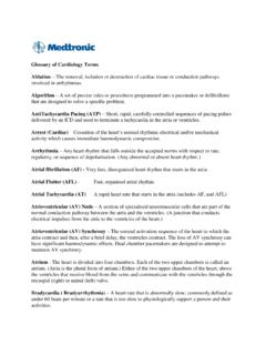 Glossary of Cardiology Terms - media.corporate-ir.net