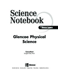 Glencoe Physical Science