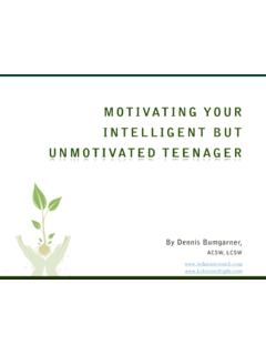 MOTIVATING YOUR INTELLIGENT BUT ... - …