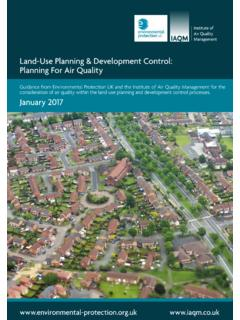 Land-Use Planning & Development Control: …