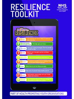 RESILIENCE TOOLKIT - See Me