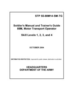 STP 55-88M14-SM-TG Soldier's Manual and …