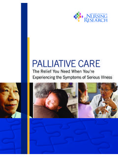 Palliative Care Brochure - UCSF Helen Diller Family ...