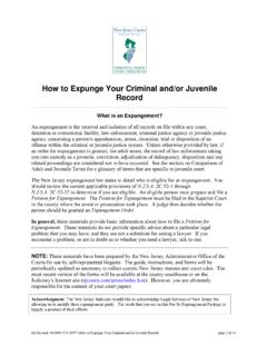 How to Expunge Your Criminal and/or Juvneile Record