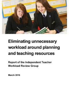 Eliminating unnecessary workload around planning and ...