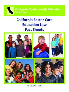 California Foster Youth Education - CFYETF