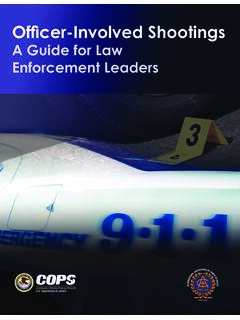 A Guide for Law Enforcement Leaders