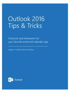 Outlook 2016 Tips Tricks - download.microsoft.com