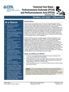 Technical Fact Sheet – Perfluorooctane Sulfonate …