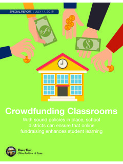 Crowdfunding Classrooms