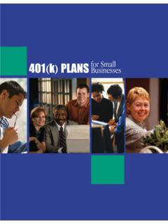 401(k) Plans for Small Businesses
