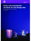 Safety and environmental standards for fuel storage sites
