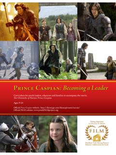 Prince Caspian: Becoming a Leader - Heartland Film