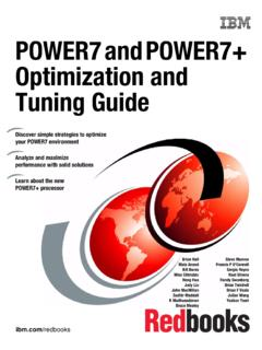 POWER7 and POWER7+ Optimization and Tuning …