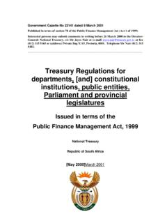 Treasury Regulations for departments, [and] constitutional ...
