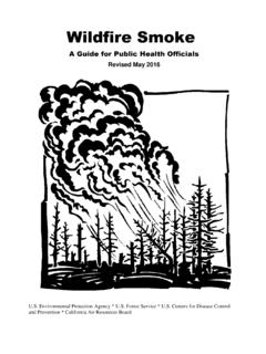 Wildfire Smoke: A Guide for Public Health Officials