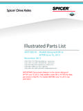 Illustrated Parts List - Dana Incorporated