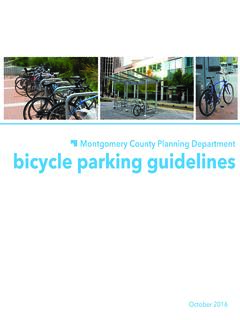 2 montgomery county bicycle parking guidelines