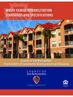 STANDARDS AND SPECIFICATIONS - …