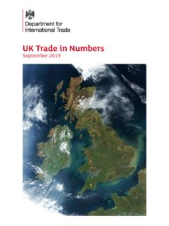 UK Trade in Numbers