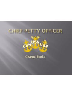 CHIEF PETTY OFFICER - dcfpnavymil.org