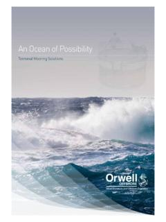 An Ocean of Possibility - Orwell Offshore