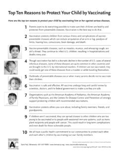 P4016, Top ten reasons to protect your child by …