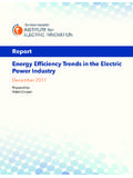 Energy Efficiency Trends in the Electric Power …