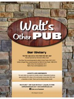 THE PUB 1982-2010 & THE OTHER PUB 1991-2007 …